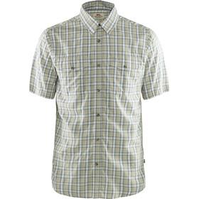 Fjällräven Abisko Cool Kortærmet T-shirt Herrer, grøn/grå